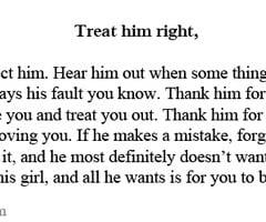 Treat Your Man Right Quotes. QuotesGram