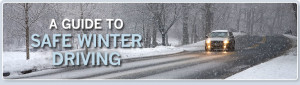 Winter driving tips and advice – be prepared this year.