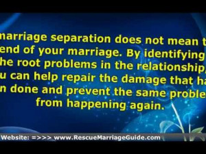 Surviving Marriage Separation – Relationship Advice