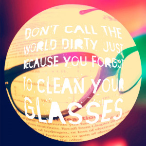glasses and quotes by estewanii