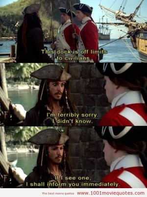 Pirates of the Caribbean The Curse of the Black Pearl (2003) quote