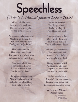 Images results for: michael-jackson-poems