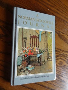 Beautiful-Norman-Rockwell-Journal-Lined-Garden-Themed-w-Quotes-Lovely