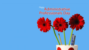 the best way to say thank you on administrative professionals day is ...