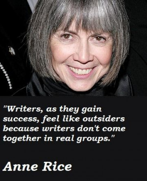 Anne rice famous quotes 5