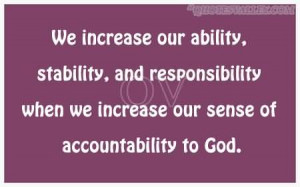 quotes and sayings about responsibility