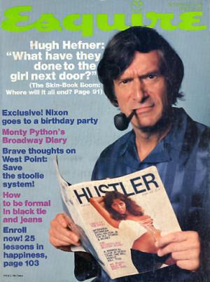 Hugh Hefner, November 1976