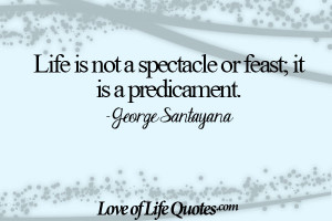 File Name : George-Santayana-quote-on-life-not-being-a-spectacle.jpg ...