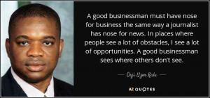 Orji Uzor Kalu Quotes