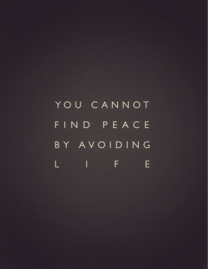 cannot-find-peace-avoiding-life-daily-quotes-sayings-pictures.jpg