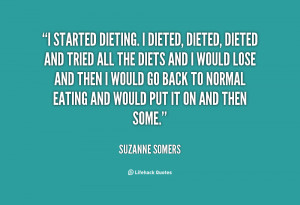 Suzanne Somers Mother Quote