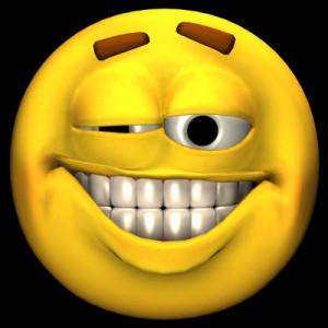 Big cheesy smile