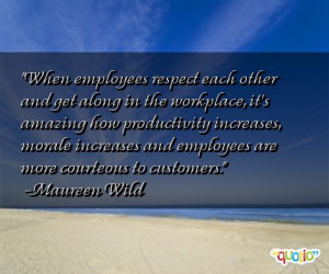 Respect in the Workplace Definition