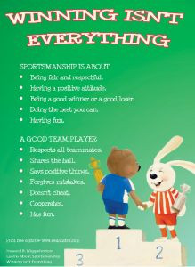 Great book for kids to learn about sportsmanship and being a team ...
