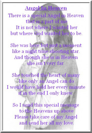 Angel In Heaven Birthday Quotes Quotesgram
