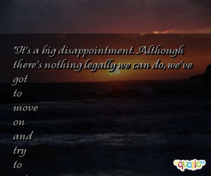 Quotes About Disappointment
