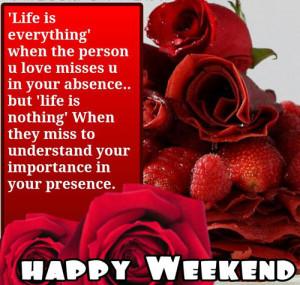 Happy Weekend Greetings Card