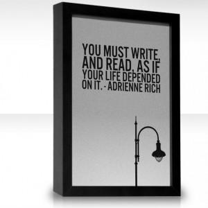 Adrienne Rich. My favorite American poet.