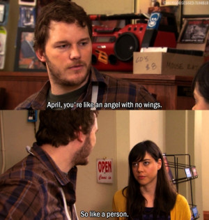 Parks and Recreation's Andy & April