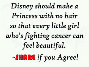 Disney Should Make A Princess With No Hair