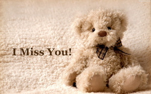Miss You Cute Teddy Bear Day Quotes Images, Pictures, Photos, HD ...