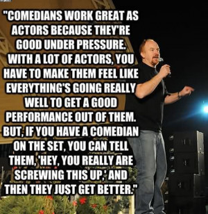 Comedians Work Great As Actors Because They're Good Under Pressure ...