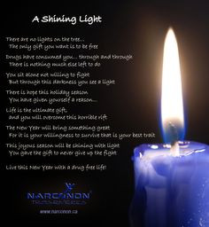 shining light Christmas poem A Christmas Poem for Addiction Recovery ...