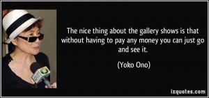 More Yoko Ono Quotes