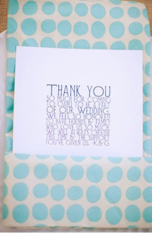 Wedding Thank You Quotes