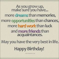 quotes 21 birthday wishes more birthday sweets happy birthday quotes ...