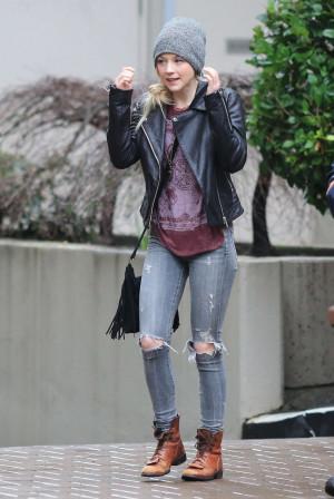Emily Kinney Jeans