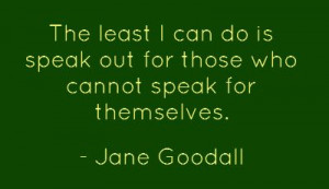 Scientist Jane Goodall, who has spent a lifetime studying chimpanzees ...