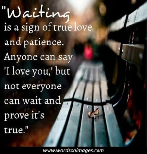 Love quotes patience