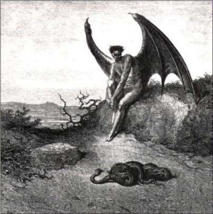 satan enthroned in hell gustave dore