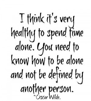 ... wilde # alone # alone quotes # quotes # quote # lonely # all alone