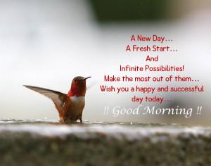 new day a fresh start