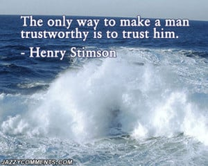 wondered what trust was who trusted more me or him