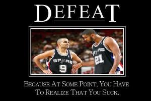 Spurs suck Image
