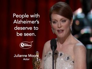 Julianne Moore shines a light #shequotes #quote #alzheimers #awareness ...