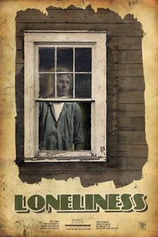 Loneliness: Boo Radley looks out his window.