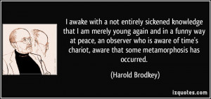 More Harold Brodkey Quotes