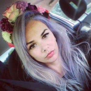 New Hair again pastelhair purplehair silverhair tattooed quote