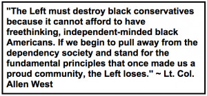Allen West Explains Why Liberals HATE Black Conservatives in One ...