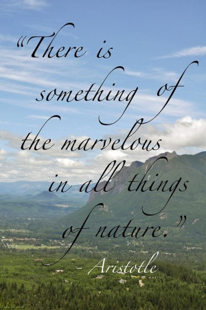 Nature Quotes and Sayings