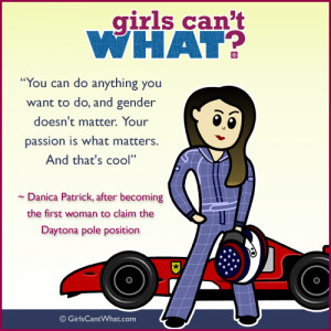 Danica Patrick Quote