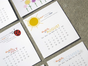 Quotes for Calendar Each Month