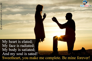 You Make Me Complete Quotes You make me complete.