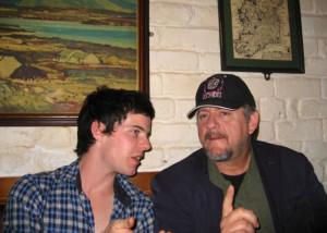 Harry Treadaway and Stephen Bridgewater in City of Ember, 2008