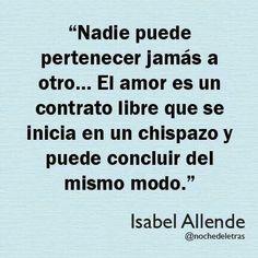 Isabel Allende.
