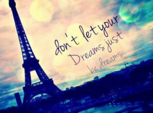 Iedereen heeft dromen....